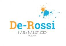 Логотип для салона красоты De-Rossi